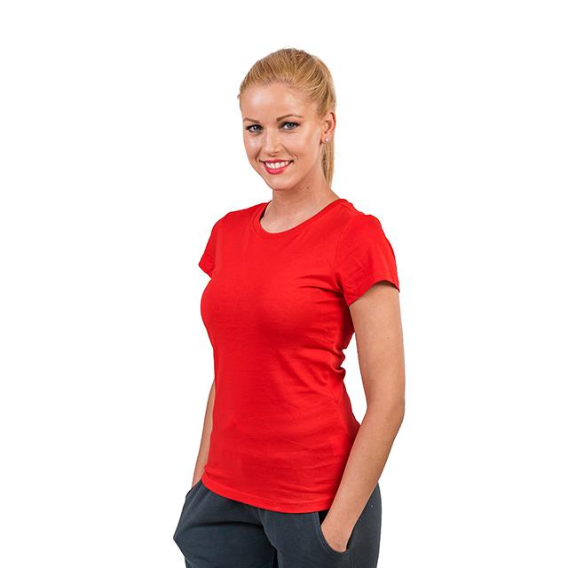 Tricou PEAK Training II dama rosu [1]