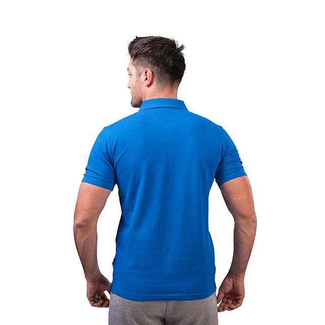 Tricou polo PEAK Crew albastru [2]