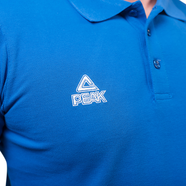 Tricou polo PEAK Crew albastru [3]
