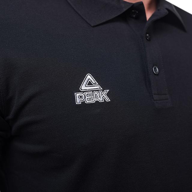 Tricou polo PEAK Crew negru [3]