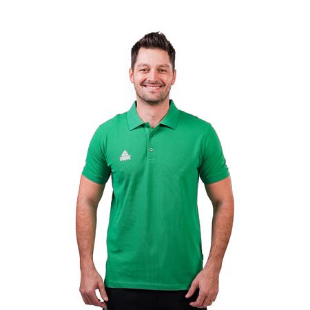 Tricou polo PEAK Crew verde [0]