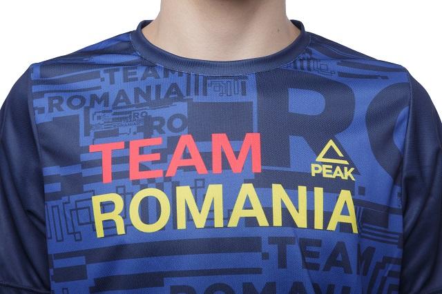 Tricou Poly Peak TeamRomania20 albastru [3]