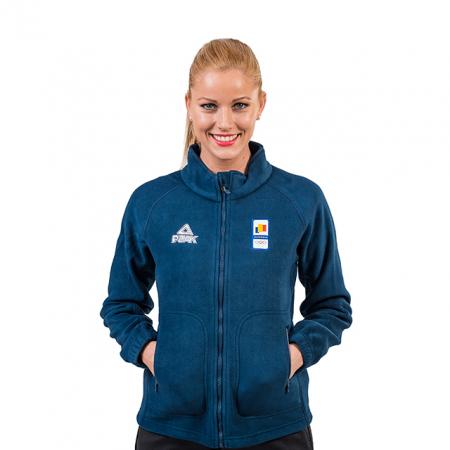 Bluza fleece PEAK Winter Olympic dama [0]