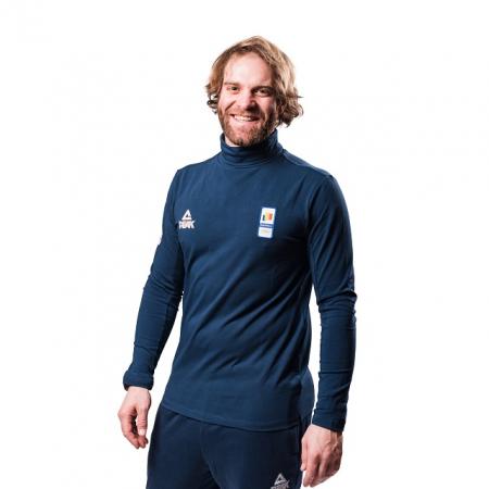Bluza pe gat PEAK Winter Olympic barbati navy [1]