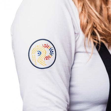 Bluza pe gat PEAK Winter Olympic dama alb [1]