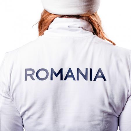 Bluza pe gat PEAK Winter Olympic dama alb [2]