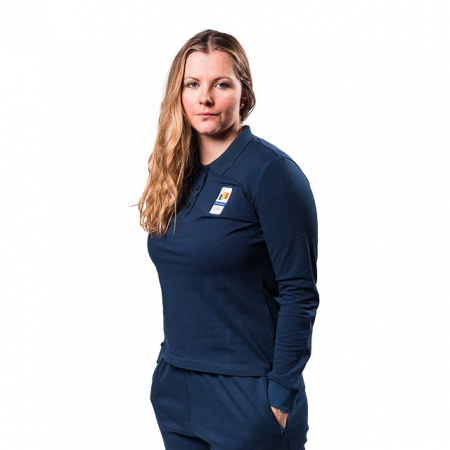 Bluza pe gat PEAK Winter Olympic dama navy [1]