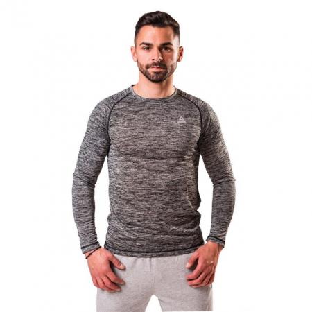 Bluza PEAK Stripes gri/negru [0]
