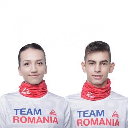 Buff Peak TeamRomania20 rosu [0]