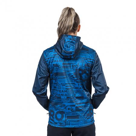Geaca softshell TeamRomania20 albastru [3]
