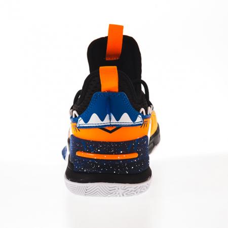 Ghete baschet copii Peak negru/albastru [3]