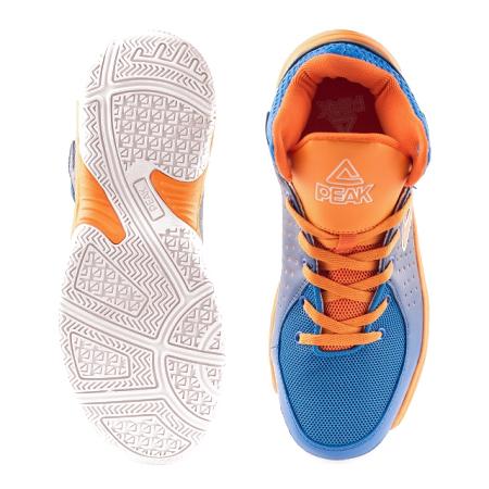 Ghete baschet PEAK copii albastru-portocaliu [2]