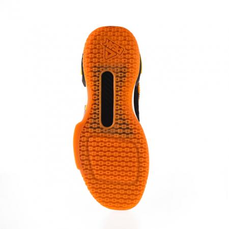 Ghete baschet portocaliu/negru [5]