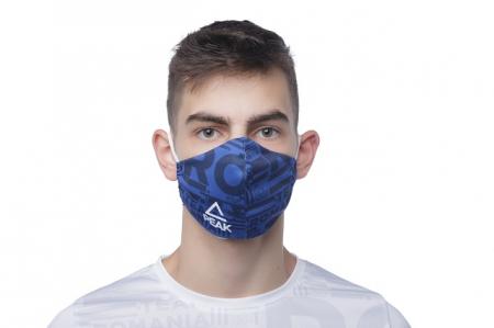 Masca faciala TeamRomania20 albastru [2]