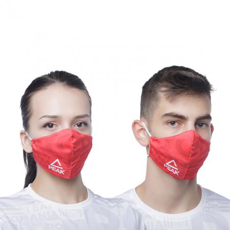 Masca faciala TeamRomania20 rosu [0]