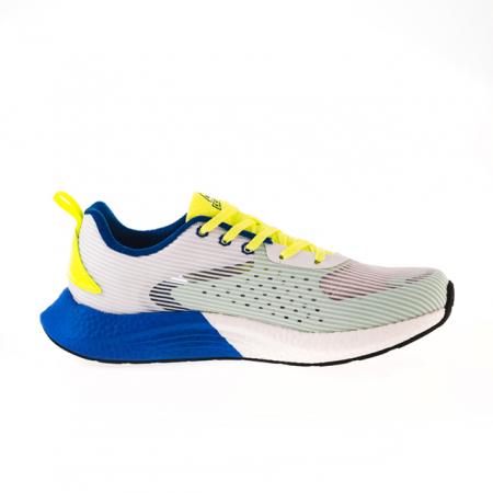 Pantofi sport alb/fluo [7]