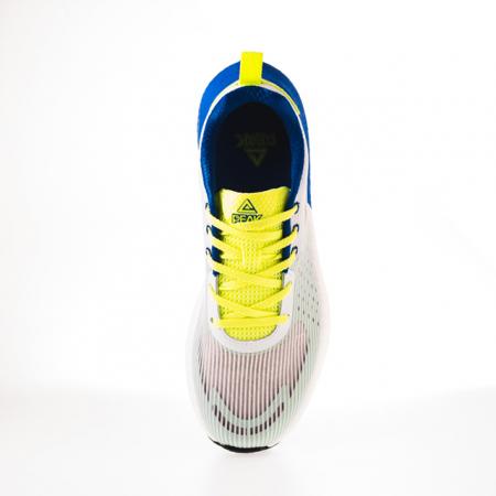 Pantofi sport alb/fluo [5]