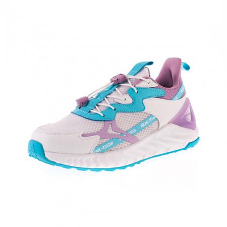 Pantofi sport copii Peak alb/mov [0]