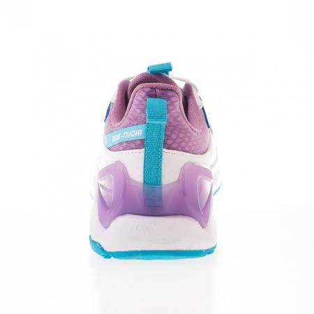 Pantofi sport copii Peak alb/mov [4]
