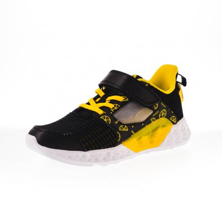 Pantofi sport copii Peak negru [2]