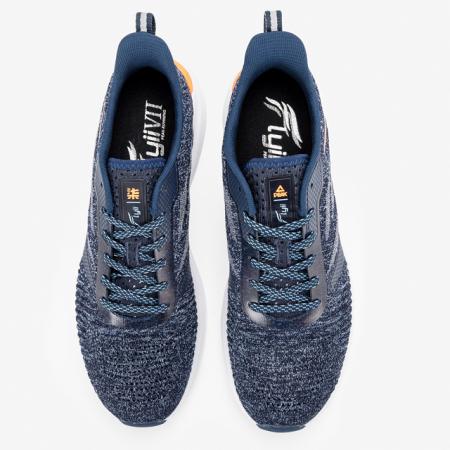 Pantofi sport PEAK Flyii VII barbati albastru/gri melanj [4]