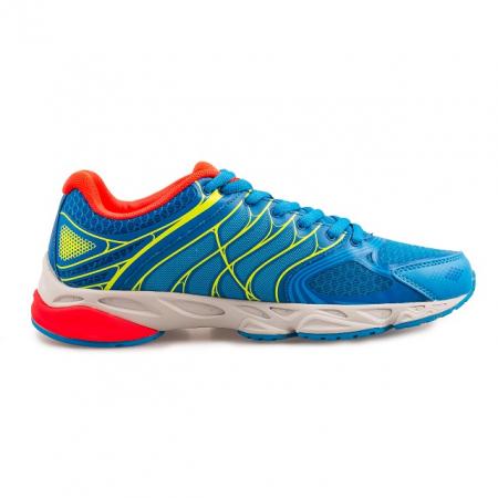 Pantofi sport PEAK Latitude albastru/rosu [2]
