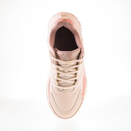 Pantofi sport Peak Retro alb/roz [7]