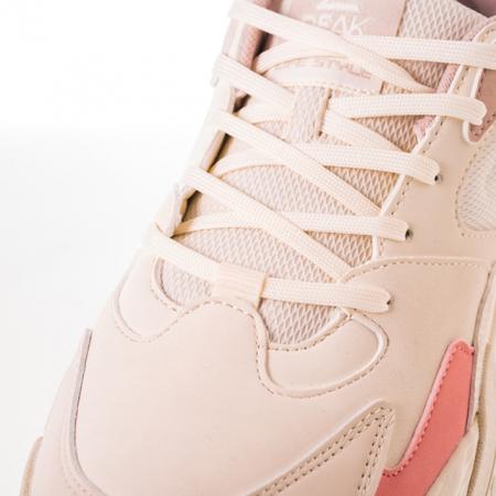 Pantofi sport Peak Retro alb/roz [5]
