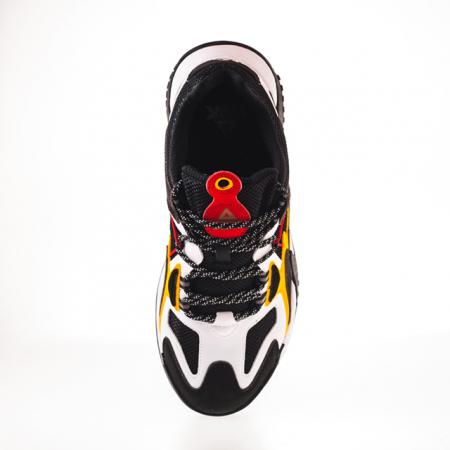 Pantofi sport Peak Retro negru/alb [8]