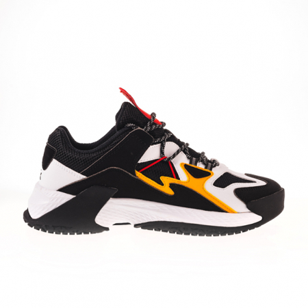 Pantofi sport Peak Retro negru/alb [3]