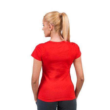Tricou PEAK Training II dama rosu [2]