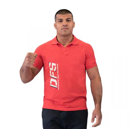Tricou polo Dynamite Fighting Show rosu [0]