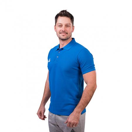 Tricou polo PEAK Crew albastru [1]