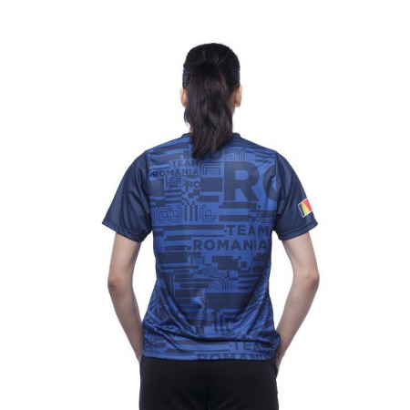 Tricou Poly Peak TeamRomania20 albastru [9]