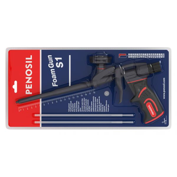 Pistol profesional S1 blister aplicare spumă poliuretanică [0]