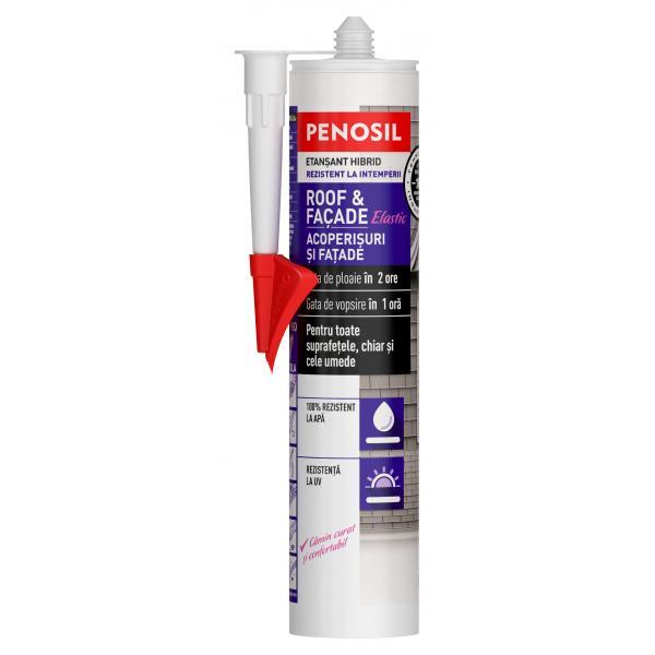 Etanșant elastic hibrid – PENOSIL Roof & Façade Elastic 0