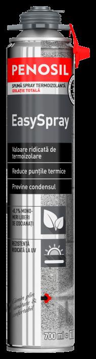 Spumă de etanșare PENOSIL EasySpray aplicabilă prin pulverizare 0