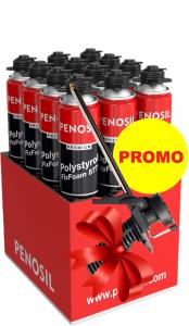 Pachet PROMOȚIONAL 1 bax spumă adezivă polistiren + PISTOL aplicare0