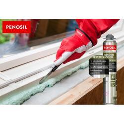 Spumă poliuretanică etanșantă – PENOSIL Window & Door Elastic, 750ml1