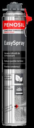Spumă de etanșare PENOSIL EasySpray aplicabilă prin pulverizare 700ml0