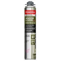 Spumă poliuretanică etanșantă – PENOSIL Window & Door Elastic, 750ml0