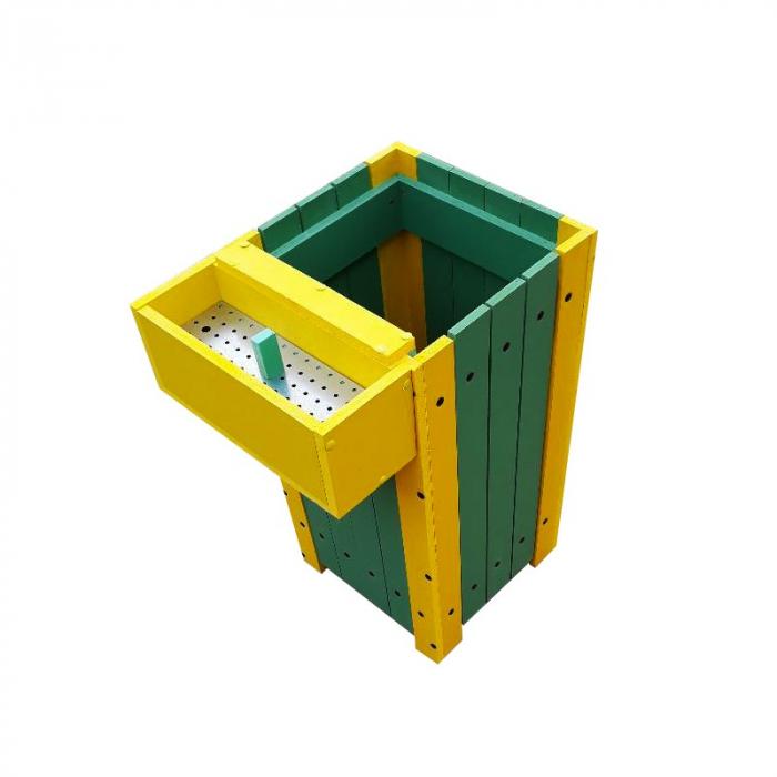 Cos pentru gunoi Helene de exterior cu scrumiera [0]