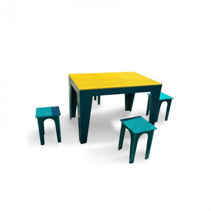 Masa cu scaune pentru gradina [0]