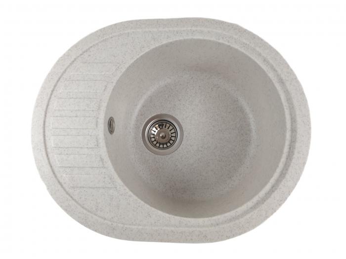 Mixxus HB8311-G319 nisip, chiuveta ovala bucatarie granit [0]