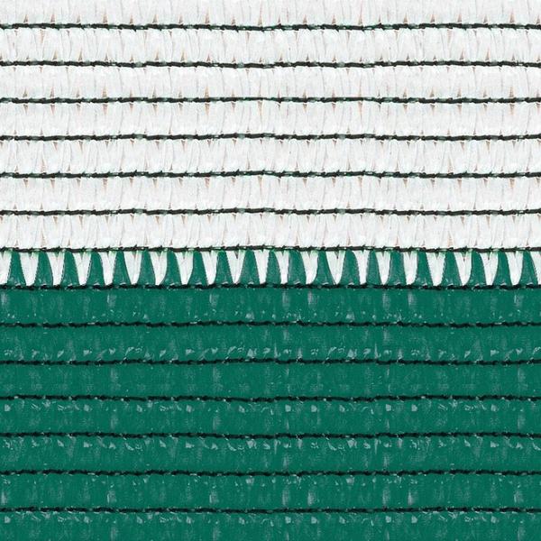 Plasa umbrire 2x10 m - verde + alb - 80 g/mp [1]