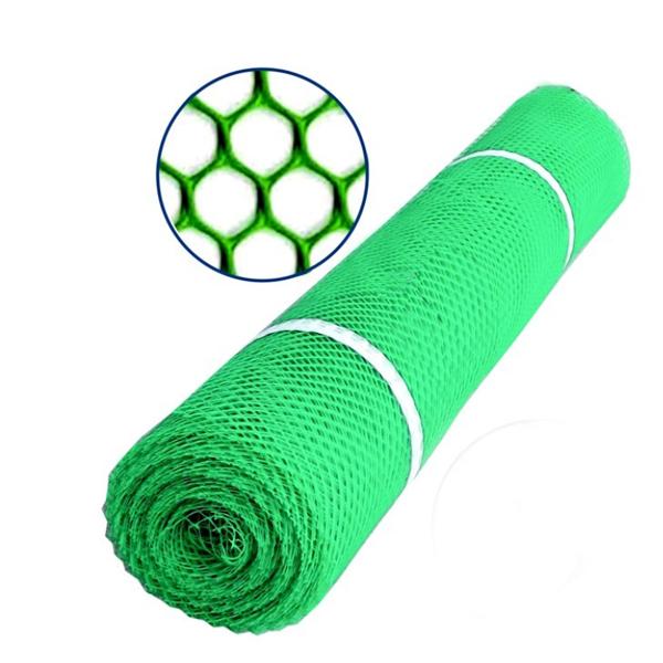 Plasa polietilena hexagon, verde 1.20 x 25 m (IX) [0]