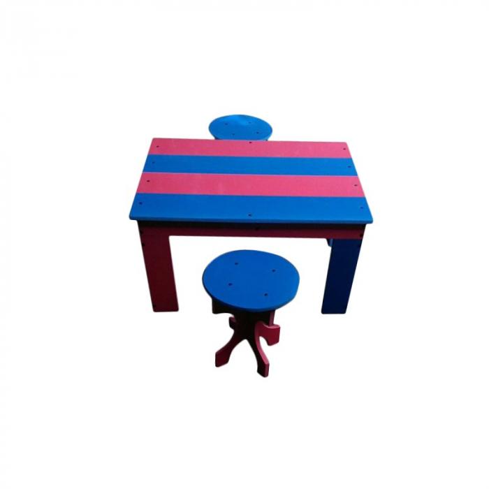Set masa cu 2 tabureti pentru gradina [0]