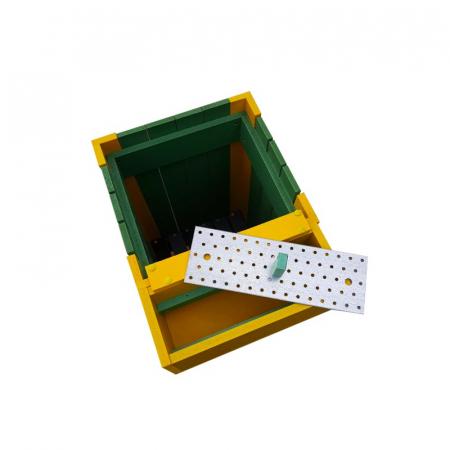 Cos pentru gunoi Helene de exterior cu scrumiera [1]