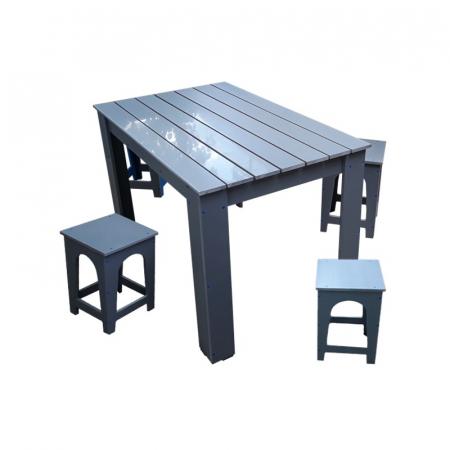Masa cu scaune pentru gradina PVC [1]