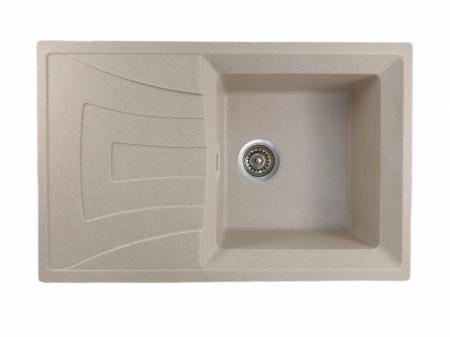 Mixxus HB8104-G322 bej, chiuveta bucatarie dreptunghiulara granit [0]